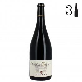 Carton 3 bouteilles, Chénas, Château des Boccards 2011