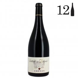 Carton 12 bouteilles, Chénas, Château des Boccards 2011