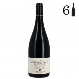 Carton 6 bouteilles, Chénas, Château des Boccards 2013