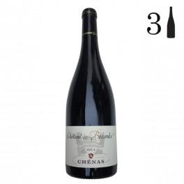Carton 3 bouteilles, Chénas, Château des Boccards 2014