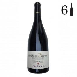 Carton 6 bouteilles, Chénas, Château des Boccards 2014